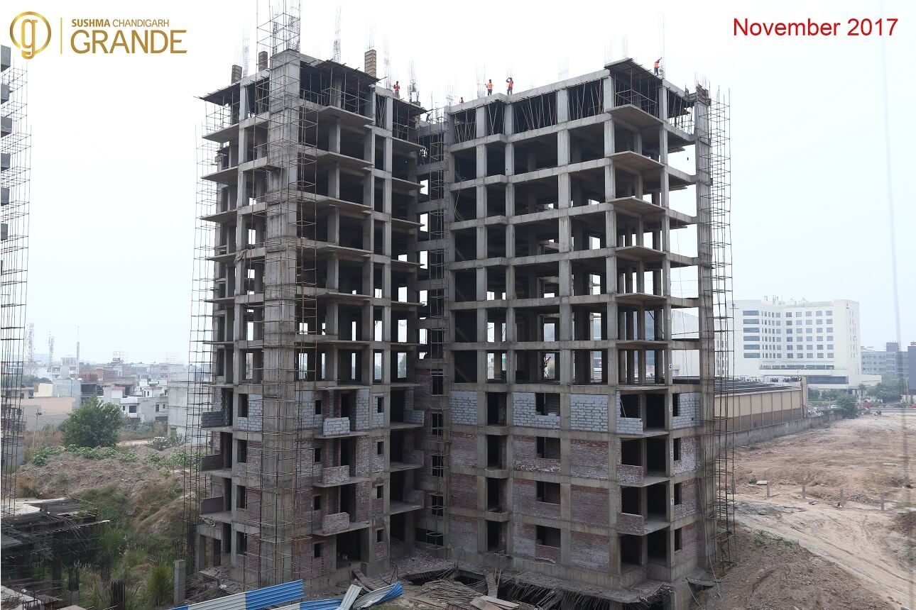 Tower-A-11th-Roof-Slab-Work-in-Progress